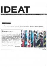 Ideat - juillet 2010 -Jérôme Revon