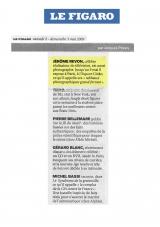 Le Figaro - Mai 2009 - Jérôme Revon