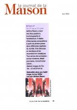 Le Journal de la Maison - juin 2010 - Jérôme Revon