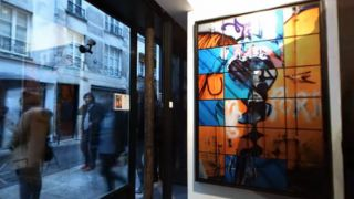 Vernissage Galerie alexandre Cadain mai 2013 Jerome Revon Video 360°